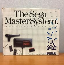 Sega Master System Console Boxed Tested