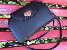 NEW BLACK LEATHER ROSETTI PURSE/HANDBAG WITH LOTS OF COMPARTMENTS & CHECKBOOK