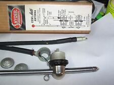 1930's-40's Snyder Vintage side mount Radio Antenna Red ball Chrome   NIB