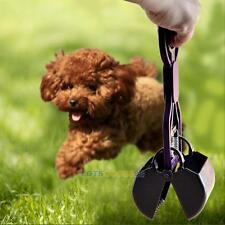 Long Handle Dog Pet Pooper Scooper Jaw Poop Scoop Waste Pick Up Home Yard Clean