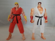 Marvel Vs Street Fighter ToyBiz Ryu & Ken Loose Action Figures