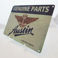 AUSTIN CLASSIC Motor Car Logo Print On A Metal Sign VINTAGE RETRO GARAGE Mancave