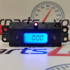 FORD FOCUS MK1 98-05 BLUE LED DIGITAL TIME CLOCK & RED ALARM LED + FREE UK POST