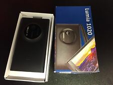 Nokia Lumia 1020 - 32GB - Matte Black (Unlocked) With Extras. Excellent Cosmetic