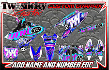 YAMAHA YZF YZ 125/150/250/450 Re.  MOTOCROSS MX GRAPHICS STICKERS   ALL YEARS