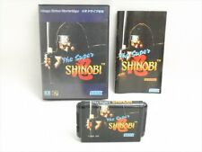 THE SUPER SHINOBI I 1 Mega Drive SEGA Import Japan Video Game md