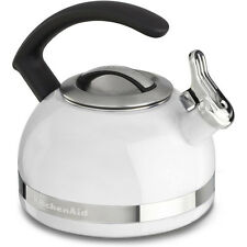 KitchenAid 2.0-Quart Kettle with C Handle and Trim Band in White - KTEN20CBWH