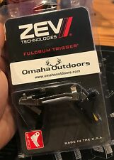 ZEV TECH GLOCK 17 19 34 GEN 3 9MM FULCRUM DROP-IN TRIGGER KIT BLACK / GOLD