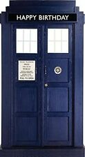 DOCTOR WHO TARDIS DOOR BIRTHDAY CARD NEW GIFT DR WHO