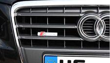 AUDI S LINE GRILL RADIATORE Emblema Logo S Q a 1 3 4 5 6 7 SLINE RADIATORE Emblema NUOVO