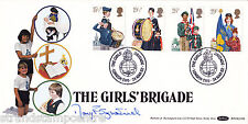 1982 Youth - Benham BOCS Off - Girls Brigade H/S - Signed by MARY FITZPATRICK