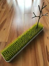 Boon Grass Countertop Baby Bottle Drying Rack (long) with Tree