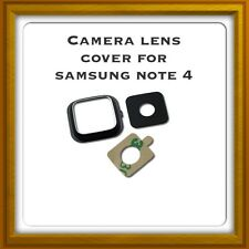 New Camera Lens Glass Cover - For Samsung Galaxy Note 4 - Black