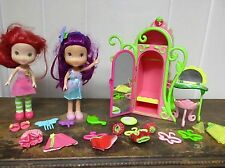 STRAWBERRY SHORTCAKE Berry Sweet Wardrobe Closet set 2 dolls Plum Puddin & more!