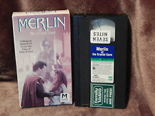 Merlin of the Crystal Cave (VHS, 1991) George Winter) BBC VIDEO) Free Ship.) HTF