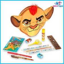 Disney The Lion Guard Zip-Up Stationery Kit pencils markers ruler scissors
