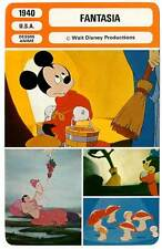 FICHE CINEMA : FANTASIA - Walt Disney,Mickey 1940 (mod.B)