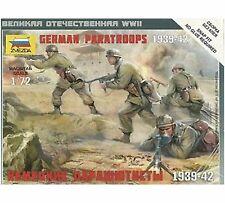 Zvezda - German paratroopers 1939-1942 - 1:72