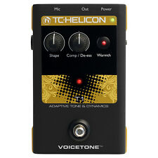 TC Helicon Voicetone T1 Vocal Dynamics EQ Compressor De-Esser Effects Pedal