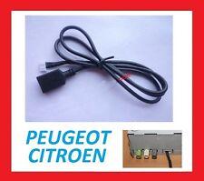 Peugeot Citroen 307 308 408 USB entree cable adaptateur Livraison gratuite