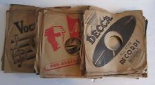 """Lot of vintage 10"""" 78 rpm Record Sleeves 50+"""