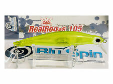 NEW BY BLUSPIN JERK BAIT REAL ROGOS 105 17g 105mm SINKING - COLOR: RR115
