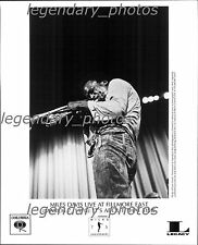 Miles Davis Live at Fillmore East: It's About that Time Original Press Photo