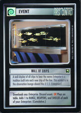 STAR TREK CCG REFLECTIONS VERY RARE WALL OF SHIPS