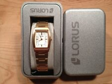 New - Reloj Watch LORUS Ref.RRW38AX-9 - Quartz  Golden steel Acero dorado  Nuevo