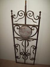 WROUGHT IRON STAIRS SPINDLES FOR RAILING ART WORK HANDCRAFTED 10 37''x 12'' NEW