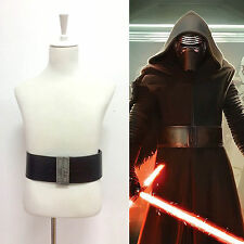 Star Wars The Force Awakens Kylo Ren Cosplay Cinturón La guerra de las galaxias