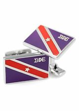 Sigma Phi Epsilon Fraternity Cuff Links w/ Official colors SigEp flag | NEW!!**