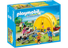 Playmobil Summer Fun Family Camping Trip Playset 5435 (for Kids 4 to 10)