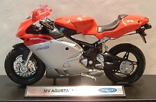 "1:18 MV AGUSTA F4S F4 750 IN RED SILVER ""OF CORSE"" SUPERB MODEL! SUPERB DETAIL"