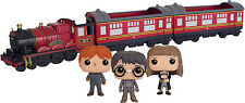FUNKO POP VINYL RIDES HARRY POTTER HOGWARTS EXPRESS TRAIN COMPLETE SET OF 3 NEW