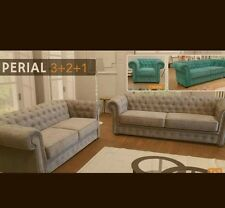 imperial sofa chesterfield style with sofa bed option from £399