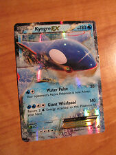 EX KYOGRE EX Pokemon Card PROMO Black Star XY41 Set Legend of Hoenn Tin 180 HP