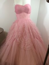 Vintage 50's 1950's Prom Wedding Ballgown Burlesque Rockabilly  Dress