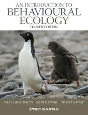 An Introduction to Behavioural Ecology 4th Edition (Paperback), D. 9781405114165