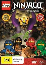 Lego Ninjago: Masters of Spinjitzu: Season 4 - Vol 1 DVD NEW