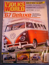 Volksworld VW Mag - Best brake set ups - 67 Deluxe bus - Beetle - Drag Ghia