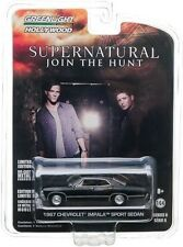 `67 Chevrolet Impala SUPERNATURAL Film Auto 1967 ***Greenlight 1:64 OVP