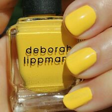 NEW! Deborah Lippmann WALKING ON SUNSHINE Polish Lacquer full size Yellow