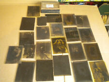 vintage plate glass Negatives 1930s girls excellent collection 12 x 9cms
