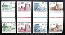 GB 1988 Castles (4) Unmounted Mint Vertical Gutter Pairs SALE PRICE FP2364