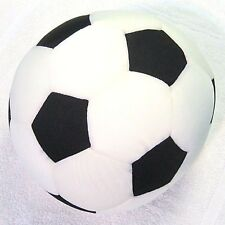 "Snow Foam Micro Beads 10""-12"" Japanese Full Size Soccer Ball Cushion Pillow-New"