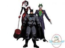 Stealth Batman Hush Three Pack Harley Quinn, Batman and Joker DC Collectibles