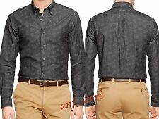 NWT Ralph Lauren Polo Button Down Slim PAISLEY CHAMBRAY Mens Shirt MEDIUM M $198