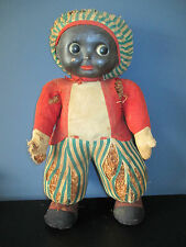 Large Antique Black Americana Doll Moving Eyes Composition head
