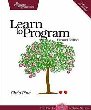 Learn to Program, Second Edition (The Facets of Ruby Series), Chris Pine, Accept